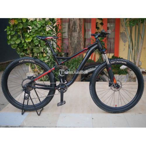 Sepeda MTB Fullsus Fluxus 3.0 Full Upgrade Bekas Baik Normal Mulus - Cirebon