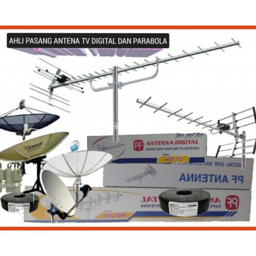 Parabola Agen Toko Ahli Pasang Antena TV Cibinong, Pesona Khayangan - Depok