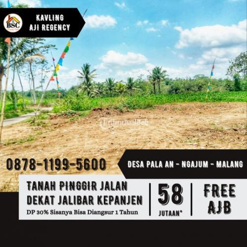 Dijual Tanah Kavling 58 Jutaan Lokasi Di Kepanjen - Malang