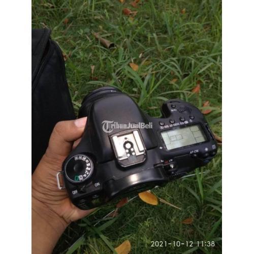Kamera DSLR Canon EOS 7D Lensa Fix 50mm F1.8 Canon Mark II Bekas Normal - Bekasi