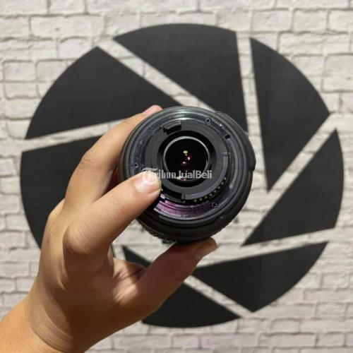 Lensa Nikon AFS 18-105 VR Second No Box Autofokus Normal No Fog - Sidoarjo