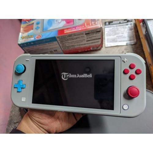 Nintendo Switch Lite Pokemon Sword Shield Limited Edition Fullset 31 - Tasikmalaya