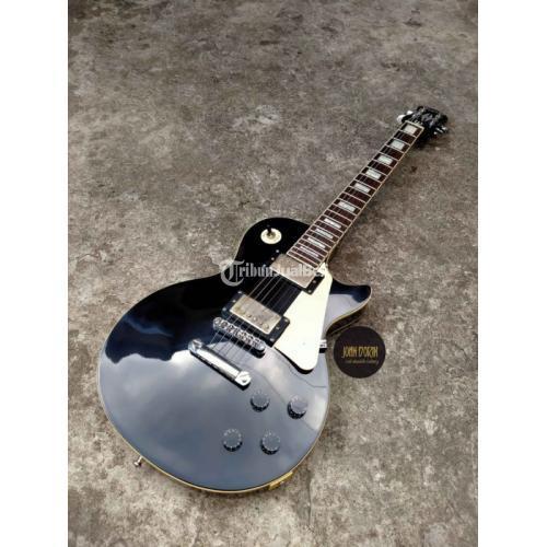 Gitar ListrikEpiphone Les Paul Replika New Good Condition All Part Standar Korea
