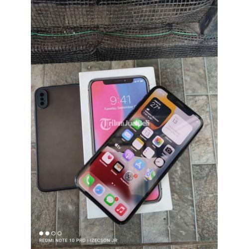 HP Apple Iphone X 64GB EX ZP/A Fullset Bekas Nominus Harga Nego - Bandung