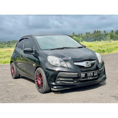 Mbil Honda Brioo E I-Vtech 2012 Bekas Warna Hitam Interior Bersih - Denpasar