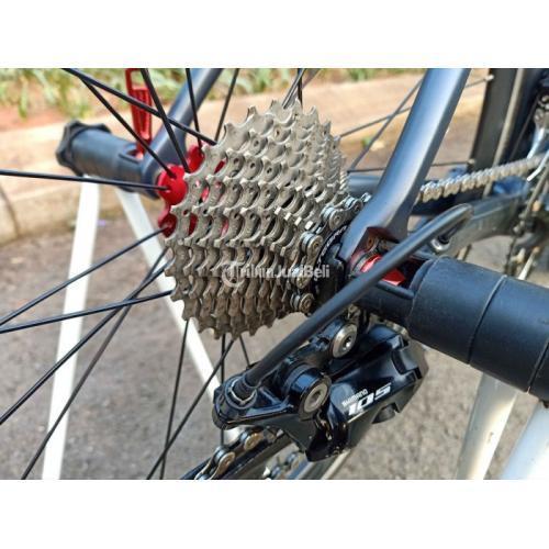 Road Bike Pacific Primum 5.0 Size 52 Bekas Upgrade Siap Pakai - Tangerang