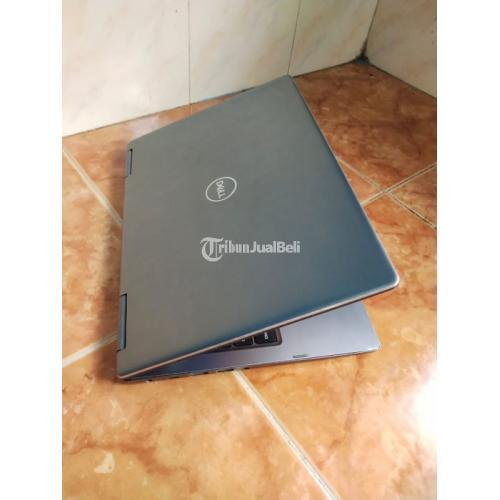 Laptop Dell Core i7 gen 8 Touchscreen Flip Bekas Normal Siap Pakai - Batu