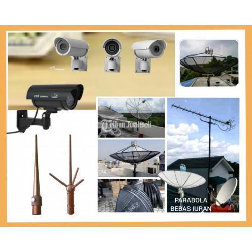 Pasang penangkal petir Bandung l ahli jasa pasang camera CCTV Antapani - Bandung
