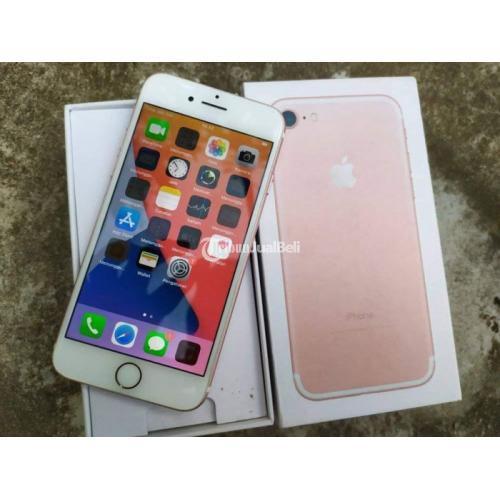 HP iPhone 7 32GB Baterai 81% Bekas Kondisi Normal Nego - Padang