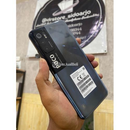 HP Xiaomi Poco M3 pro 5G RAM 6/128GB Fullset Bekas Garansi - Surabaya