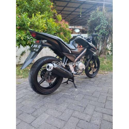 Motor Yamaha Vixion New 2013 Hitam Bekas Mesin Normal Nego - Surabaya