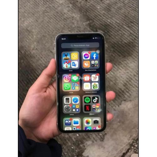 HP Apple iPhone 11 64GB Bekas Inter LL/A Like New Mulus Fullset - Bekasi