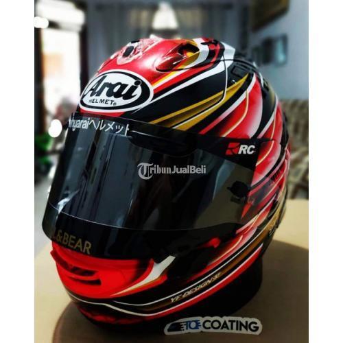 Helm Fullface Arai RX7X Nakagami GP Size L SNI Bekas Fullset Mulus- Jakarta Pusat