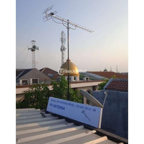Gardu 0904 Penangkal Petir || Jasa ahli pasang Antena TV Gading Serpong - Tangerang Selatan