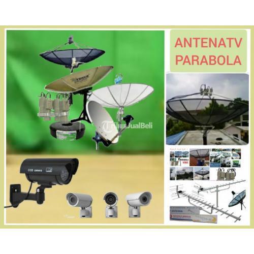 Agen antena TV l ahli jasa pasang parabola dan CCTV Cakung, rawa Ternate - Jakarta Timur