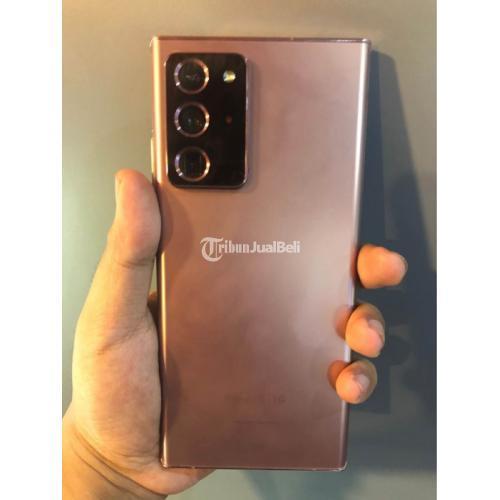HP Samsung Note 20 Ultra 256GB Fullset Bekas Mulus No Minus - Solo