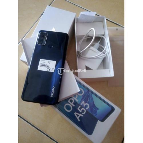 HP OPPO A53 RAM 4/64GB Fullset Bekas Mulus No Minus Garansi - Semarang