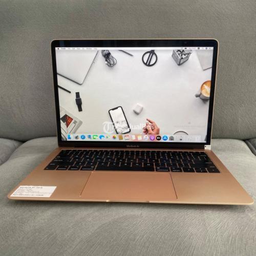 Laptop Macbook Air 2018 RAM 8GB Layar 13 Inc Bekas Normal Garansi - Semarang