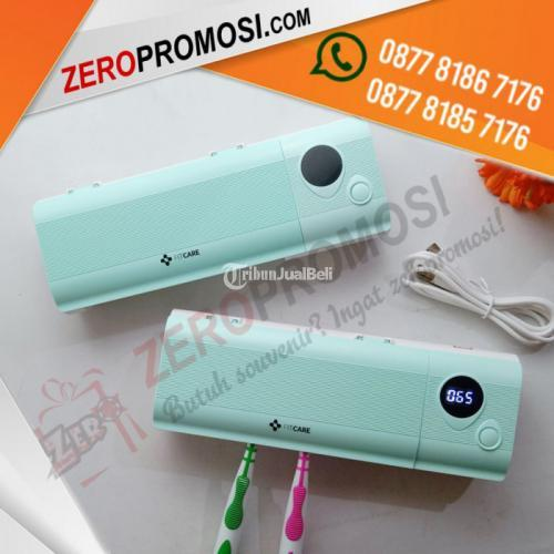 Souvenir Fitcare Kotak Sterilisasi Sikat Gigi UV Family Size Murah - Tangerang
