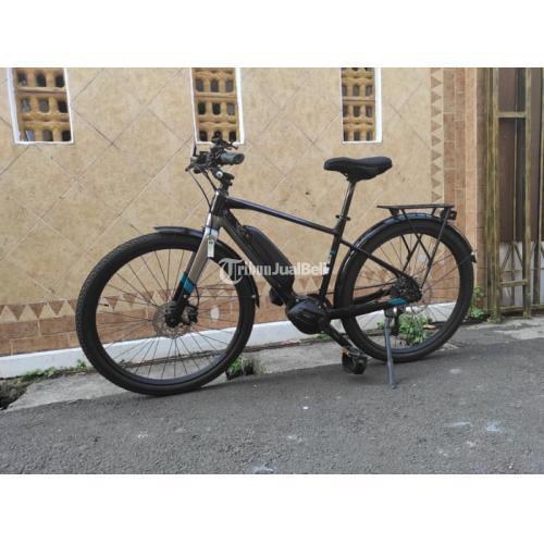 Sepeda Listrik E Bike Polygon Path E5 Size M Warna 2021 Bekas Mulus- Jakarta Selatan