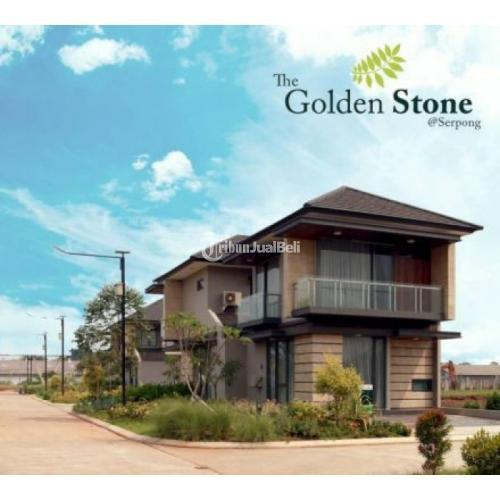 Dijual Rumah Mewah Dan Nyaman Batu di The Golden Stone Serpong - Tangerang