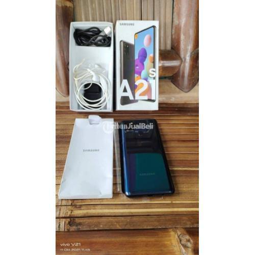 HP Samsung A21s Ram 6/128GB Full Ori Bekas Mulus Nominus - Bekasi