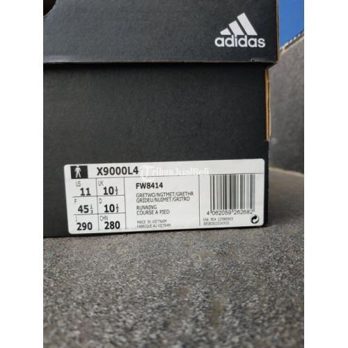 Sepatu Lari Adidas X9000L4 Size 45 1/3 Bekas Like New Harga Nego - Bandung