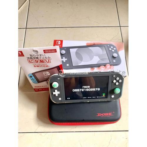 Konsol Game Nintendo Switch Lite Bekas Like New Fullset Normal - Bandung