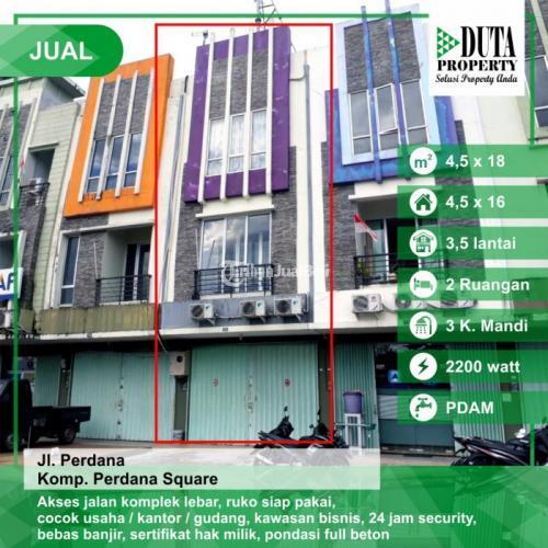Dijual Ruko Luas 4m x 18m Perdana Square Harga Nego - Pontianak