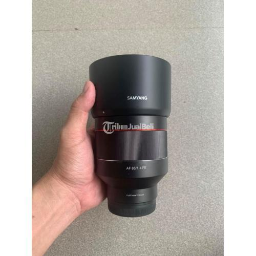 Lensa Samyang 85mm F1.4 For Sony Bekas No Jamur Auto Fokus Normal - Blora