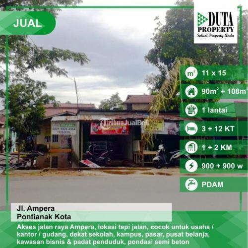 Dijual Tanah Luas 550 m2 di Ampera Pontianak, Kalimantan Barat - Pontianak
