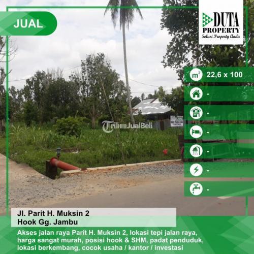 Dijual Tanah Parit Haji Muksin 2 Pontianak, Kalimantan Barat - Pontianak