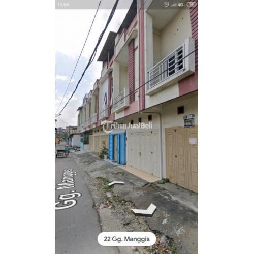 Ruko Brigjend Zein Hamid gg. Manggis dekat Pasar Tikung dan Katamso Underpass Titi Kuning