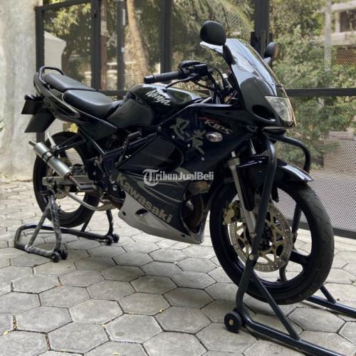 Motor Kawasaki Ninja RR 150 2010 Hitam Mesin Normal Body Mulus - Bekasi