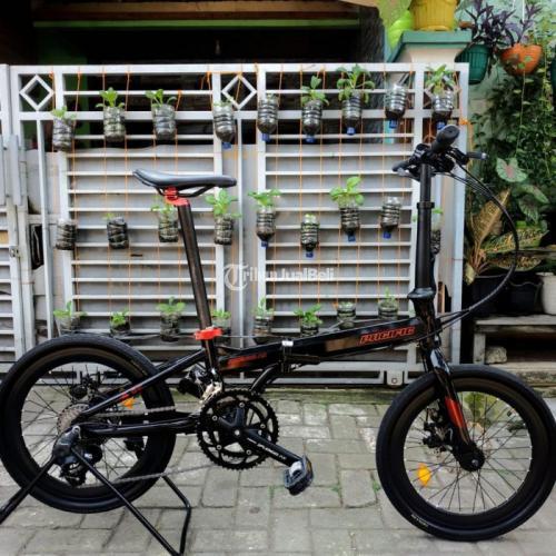 Sepeda Lipat Pacific Splendid AX 2x9 Speed Bekas Like New - Tangerang