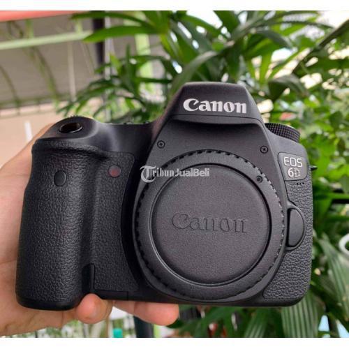 Kamera DSLR Canon 6D Wifi Body Only Sc 1rb Bekas Like New Fullset - Bogor