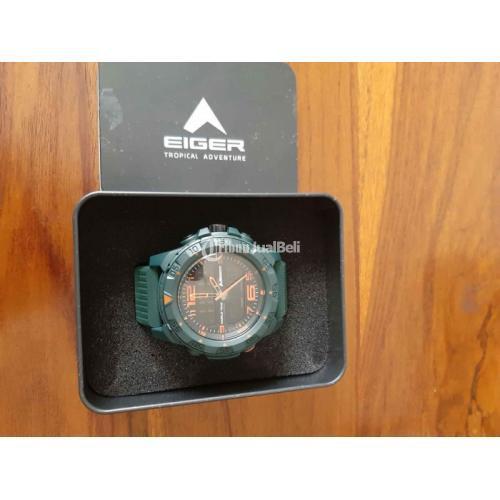 Jam Tangan EIGER Original Baru Water Resistance 100m Lengkap - Semarang