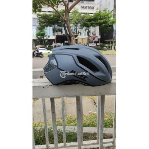 Helm PMT MIDO Size M (lingkar kepala 58) Warna Blue Bekas Like New - Tangerang