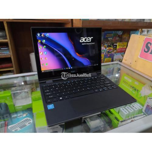 Laptop ACER Travelmate Spin Touchscreen RAM 4GB SSD 128GB Bekas Normal - Blora