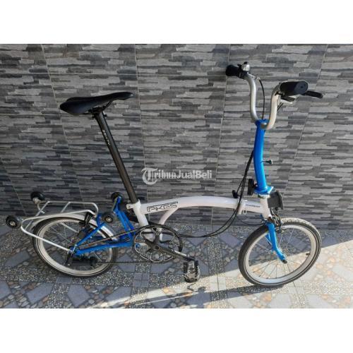 Sepeda Lipat Element Pikes 5 S Gen 1 Upgrade Bekas Harga Nego - Sukoharjo