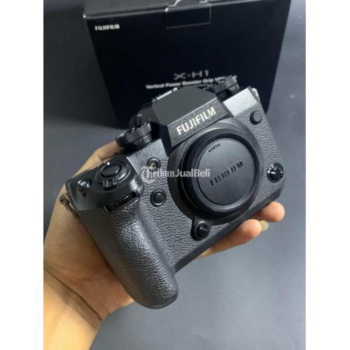 Kamera Mirrorless Fujifilm XH1 BO Fullset FFID Bekas Like New Mulus - Jogja