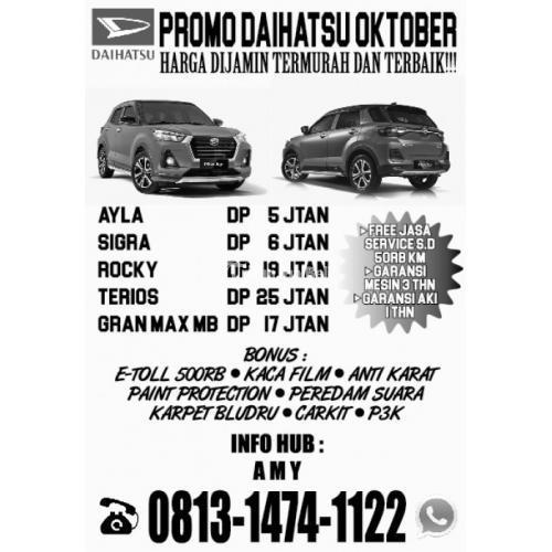 Promo Daihatsu Oktober Hrg Termurah & Terbaik Di Asco Daihatsu Fatmawati, Jaksel