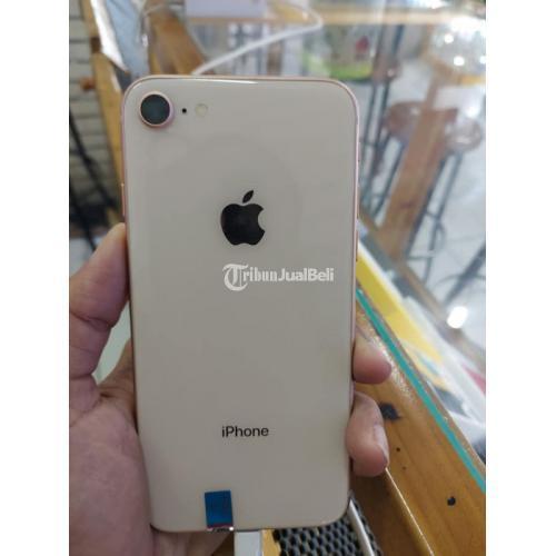 HP iPhone 8 64GB Gold Second Fullset Baterai 80% Mulus No Minus - Solo