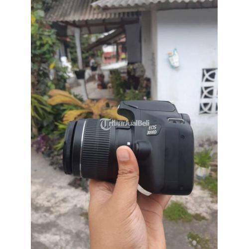Kamera Canon 3000D Fullset Box Bekas No Jamur Harga Nego - Tulungagung