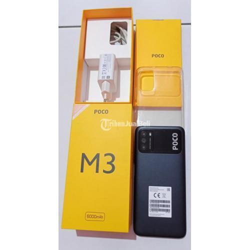 HP Xiaomi Poco M3 RAM 6/128GB Fullset Mulus No Minus Bergaransi - Surabaya
