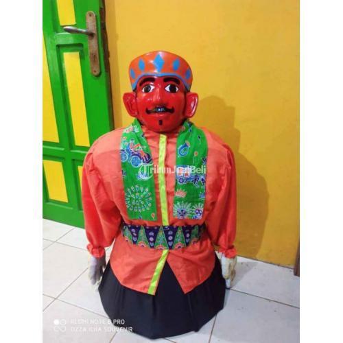 Souvenir Ondel-ondel Asli Jakarta Ukuran Bisa Custom - Jakarta Timur