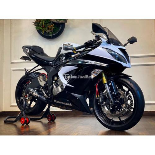 Motor Kawasaki ZX636 2013 Bekas Mulus Sehat Odo Rendah - Malang