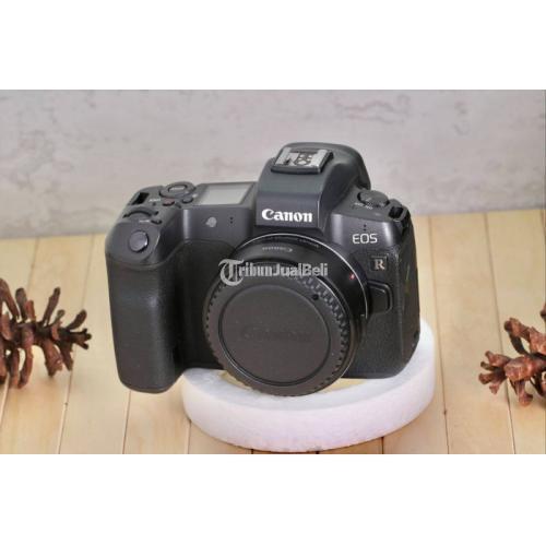 Kamera DSLR Canon EOS R Plus Adapter Garansi Resmi On Bekas Fullset - Tangerang