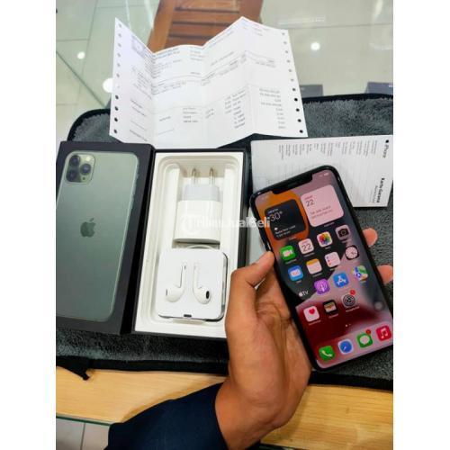 HP Apple iPhone 11 Max Pro 256GB iBox Green Bekas Fullset Ori Nominus - Bandung
