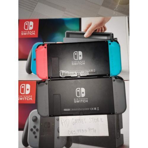 Konsol Nintendo Switch CFW 512GB Bekas Mulus Full Game Fullset - Surabaya